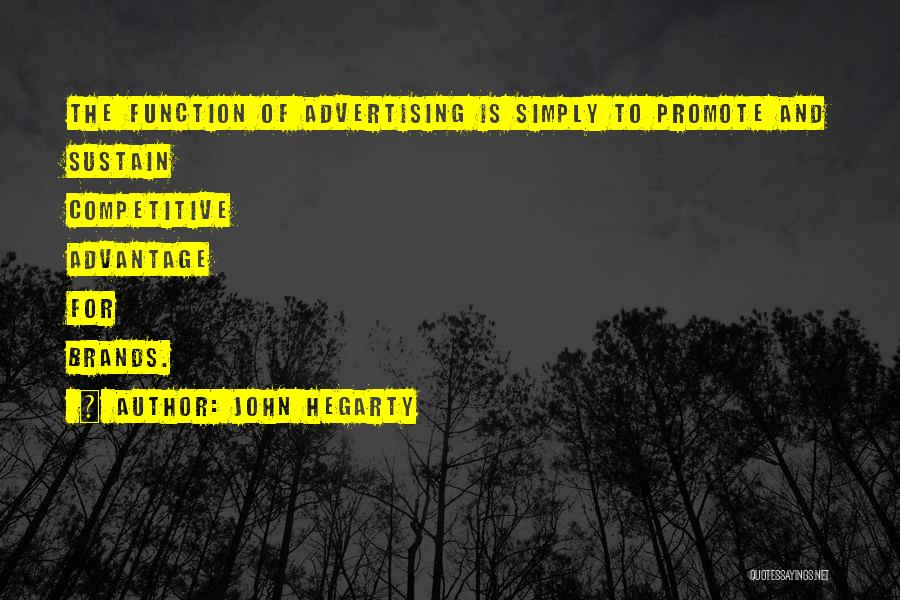 Branding Yourself Quotes By John Hegarty