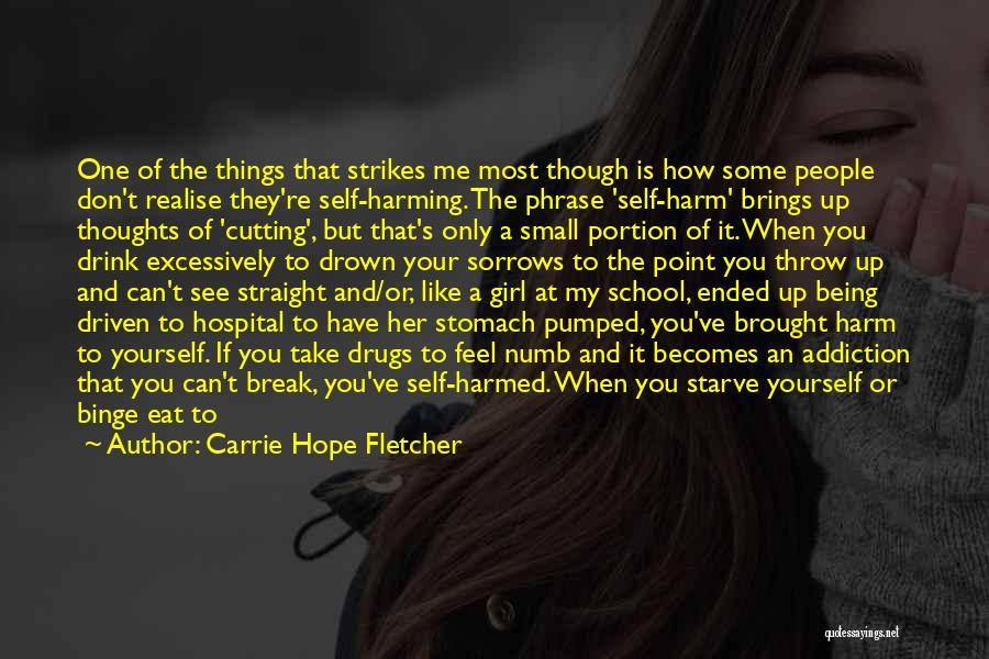 Break Even Point Quotes By Carrie Hope Fletcher