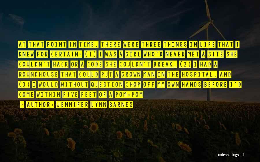 Break Even Point Quotes By Jennifer Lynn Barnes
