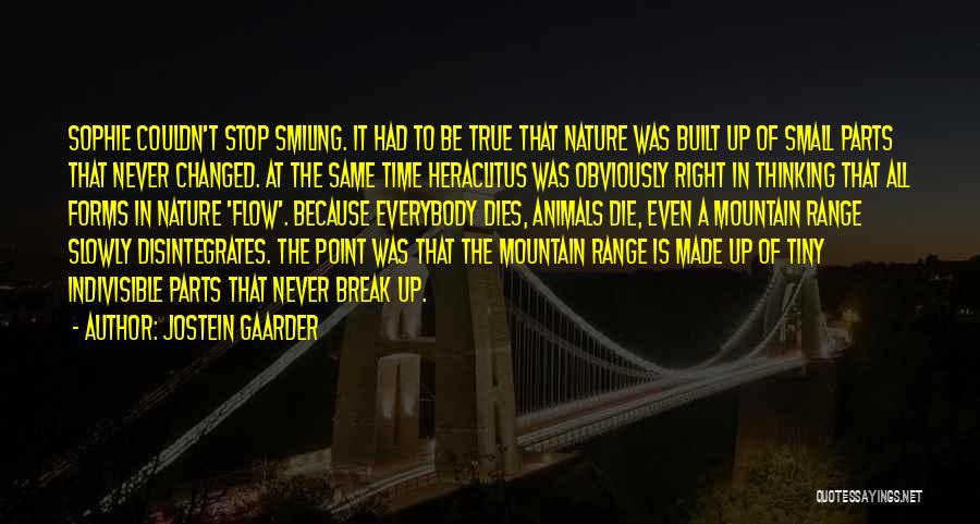 Break Even Point Quotes By Jostein Gaarder