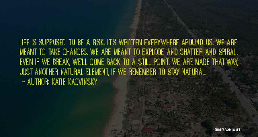 Break Even Point Quotes By Katie Kacvinsky