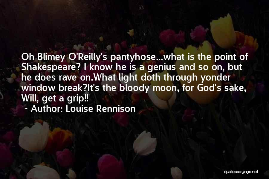 Break Even Point Quotes By Louise Rennison