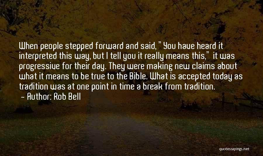 Break Even Point Quotes By Rob Bell