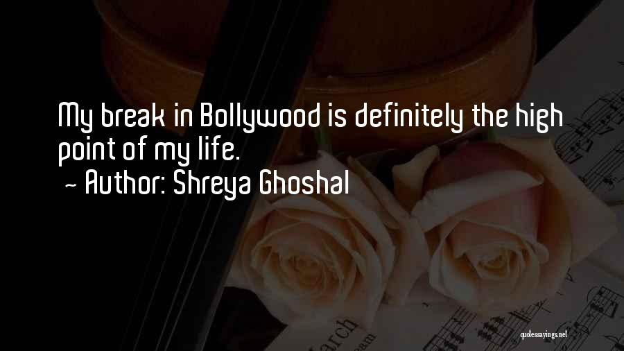 Break Even Point Quotes By Shreya Ghoshal