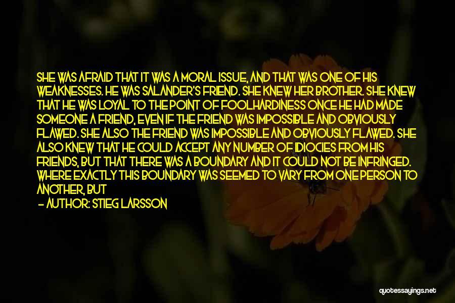 Break Even Point Quotes By Stieg Larsson