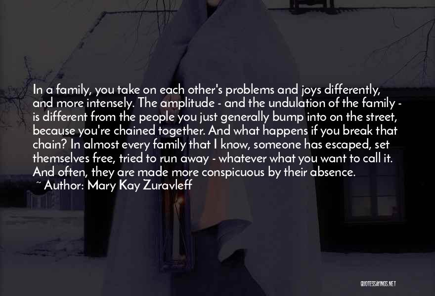 Break Every Chain Quotes By Mary Kay Zuravleff