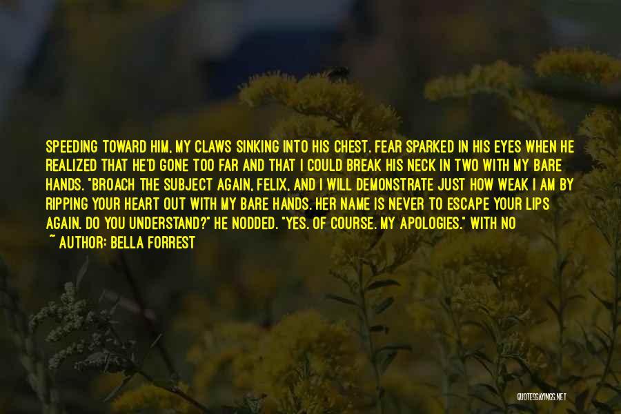 Break Neck Quotes By Bella Forrest