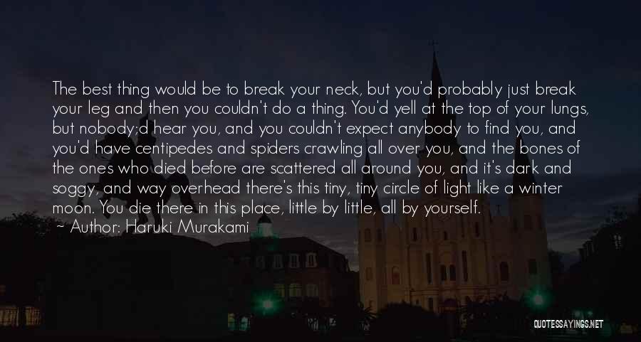 Break Neck Quotes By Haruki Murakami