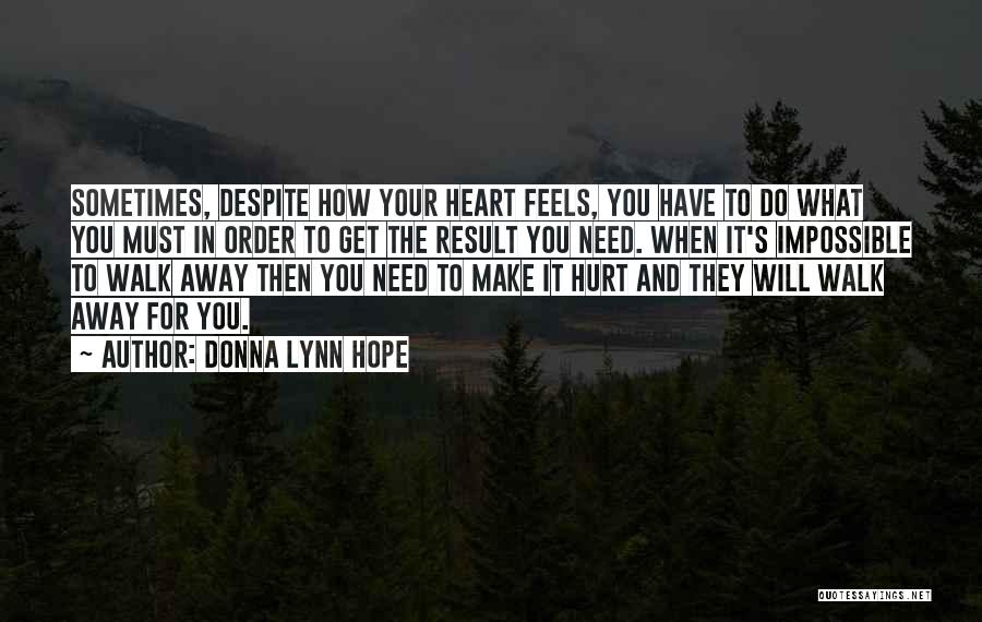 Break Up Then Make Up Quotes By Donna Lynn Hope