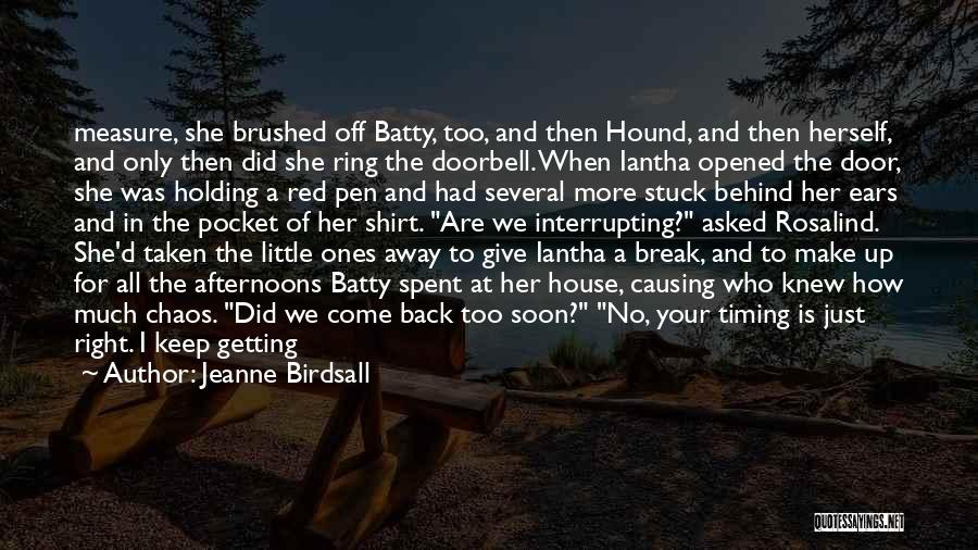 Break Up Then Make Up Quotes By Jeanne Birdsall