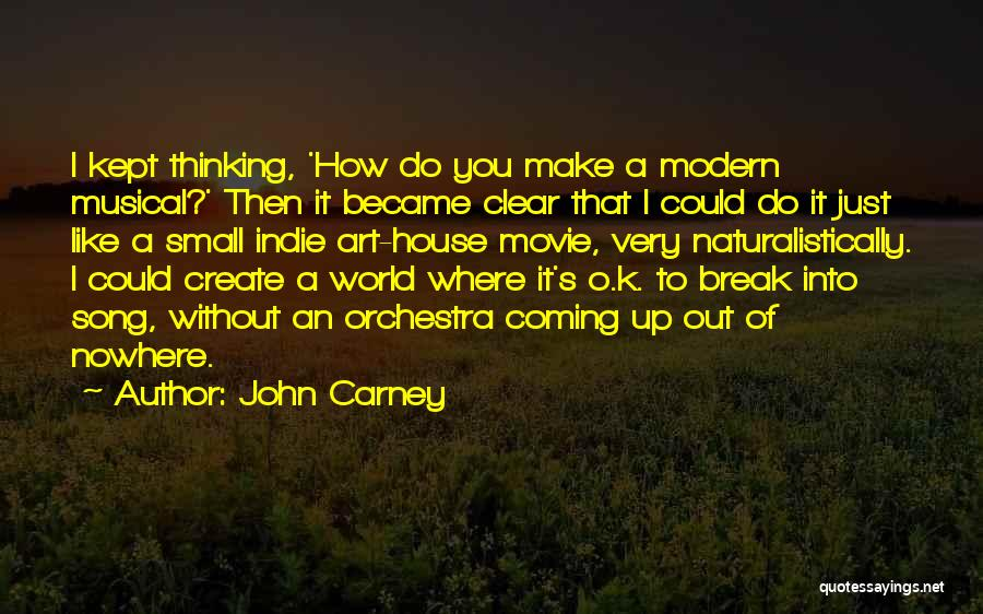 Break Up Then Make Up Quotes By John Carney