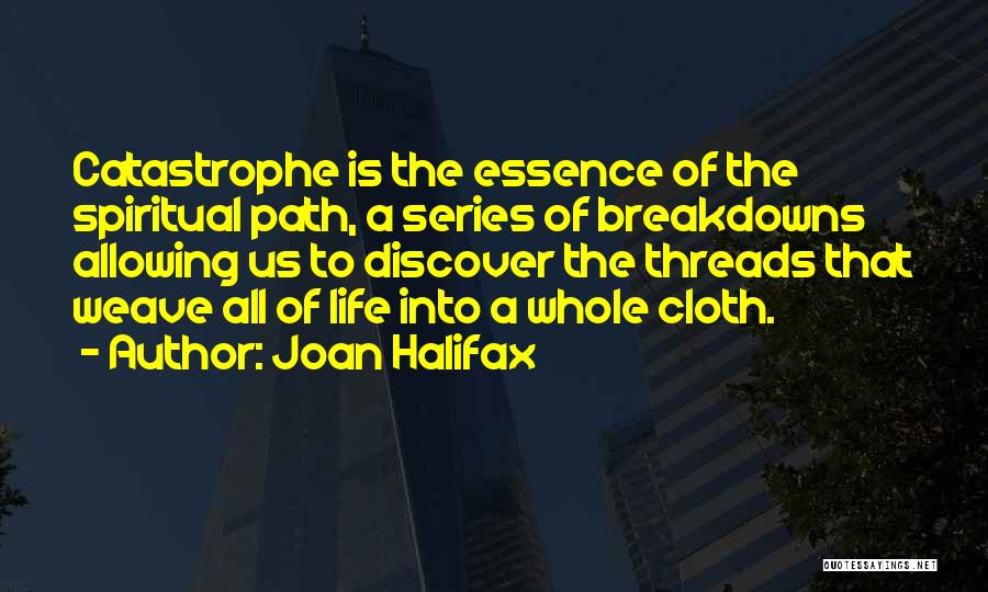 Breakdowns Quotes By Joan Halifax