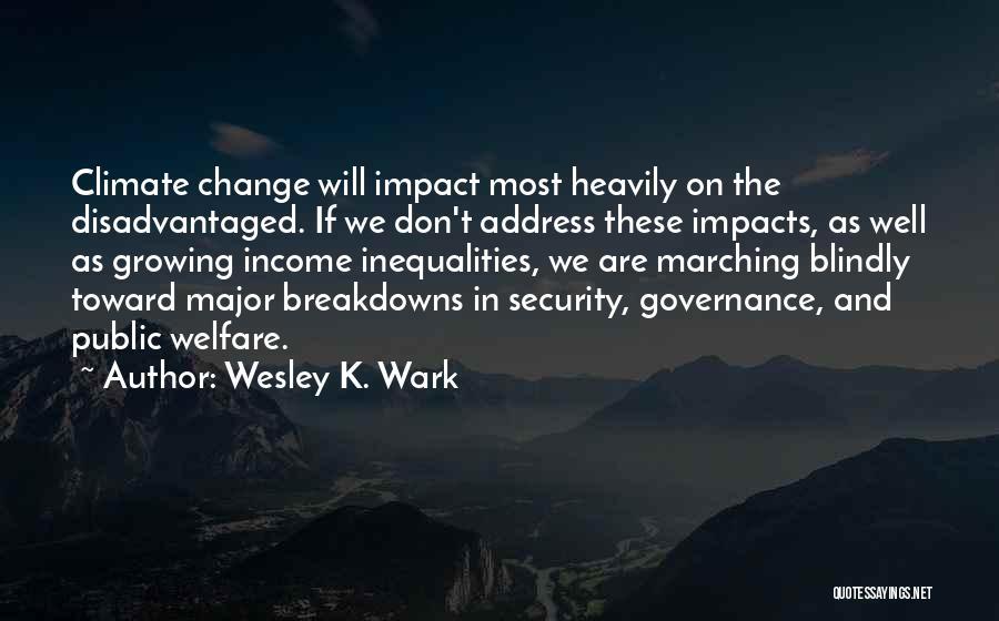 Breakdowns Quotes By Wesley K. Wark