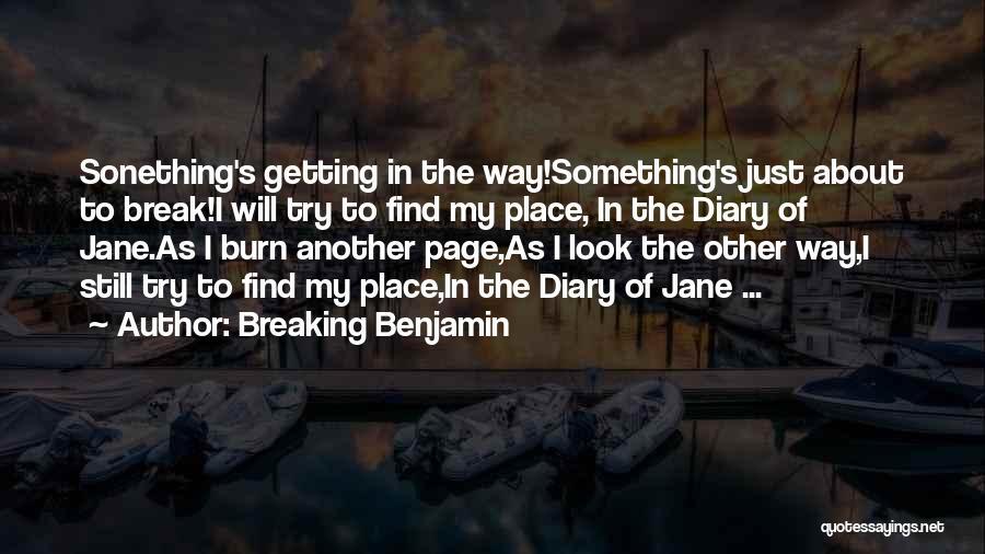 Breaking Benjamin Quotes 1202753
