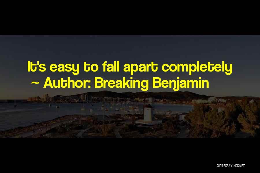 Breaking Benjamin Quotes 176890