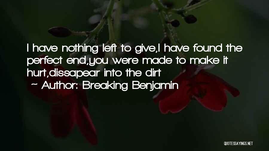 Breaking Benjamin Quotes 1950979