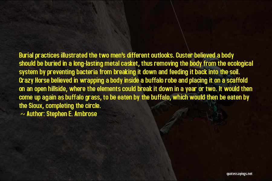 Breaking Down Inside Quotes By Stephen E. Ambrose