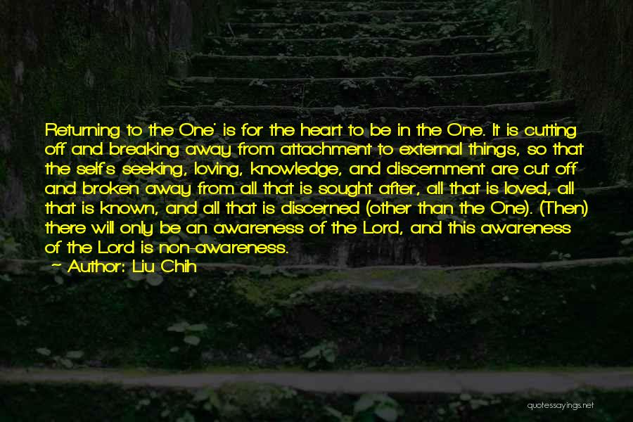 Breaking Up And Still Loving Them Quotes By Liu Chih