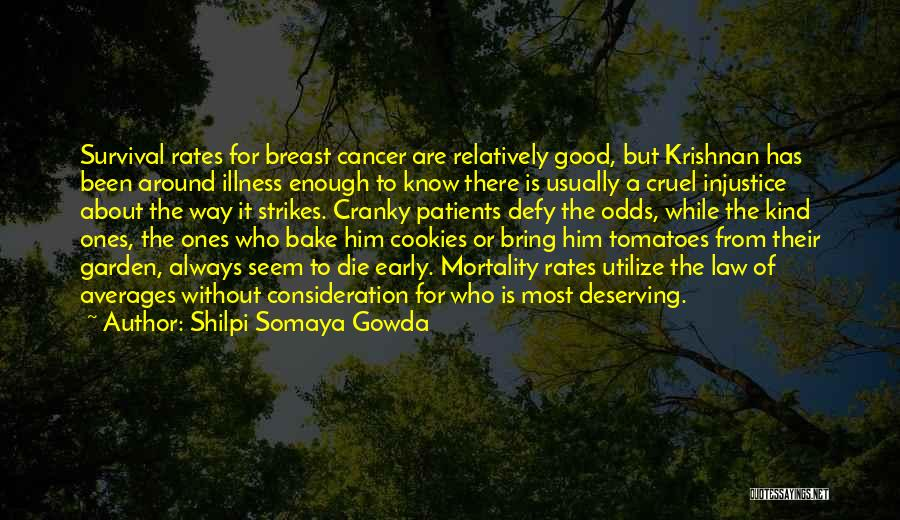 Breast Cancer Patients Quotes By Shilpi Somaya Gowda