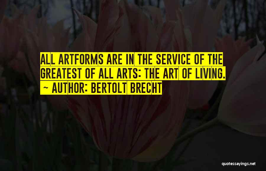 Top 100 Quotes Sayings About Brecht