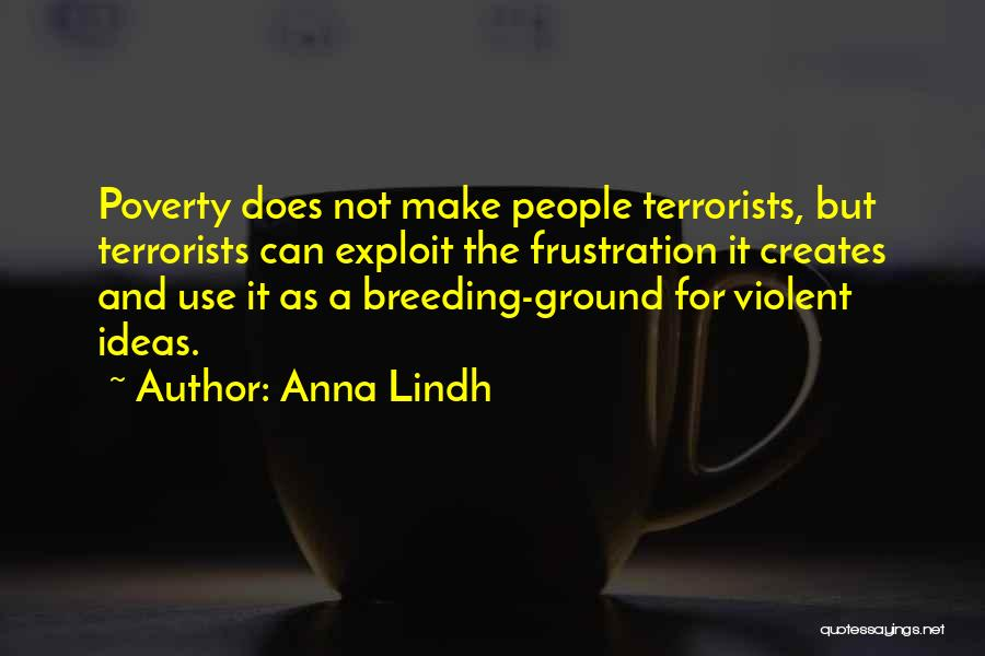 Breeding Quotes By Anna Lindh