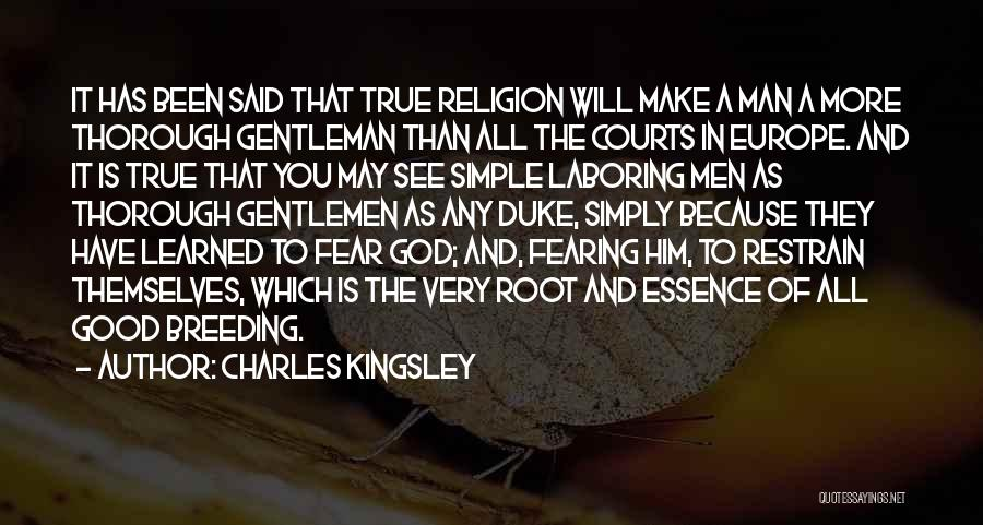 Breeding Quotes By Charles Kingsley