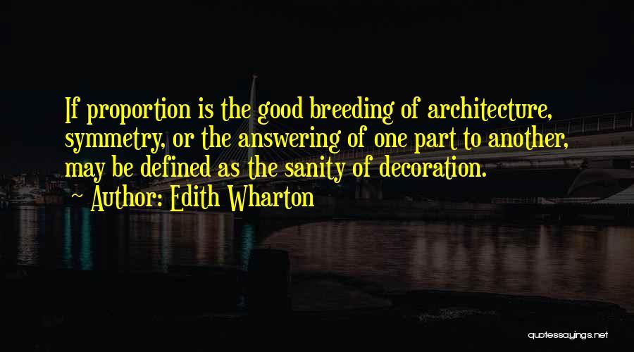 Breeding Quotes By Edith Wharton