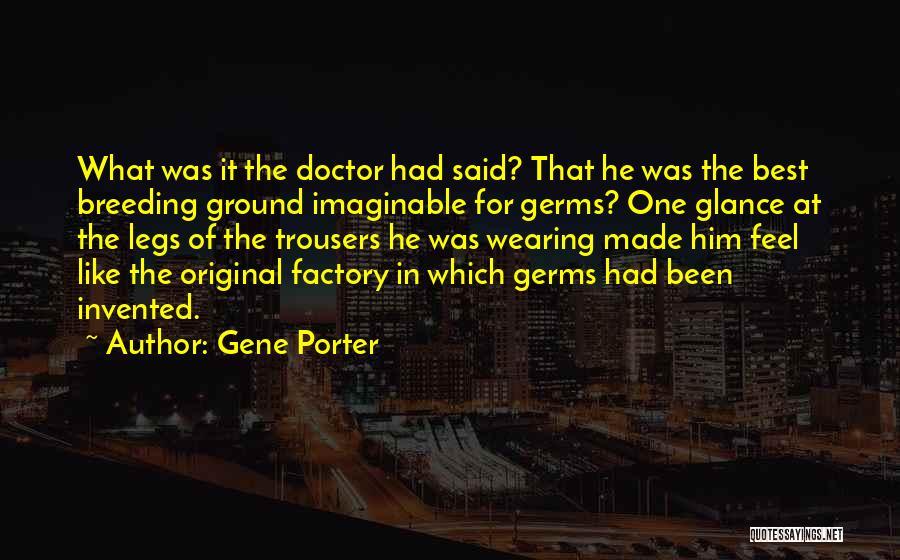 Breeding Quotes By Gene Porter
