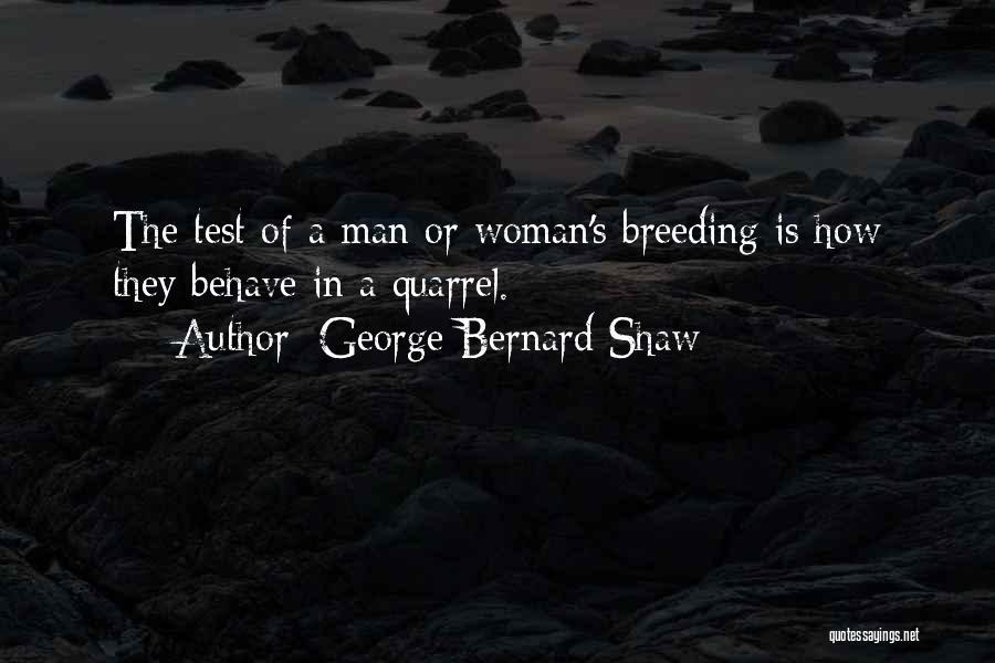 Breeding Quotes By George Bernard Shaw