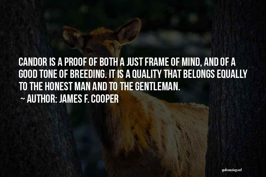 Breeding Quotes By James F. Cooper