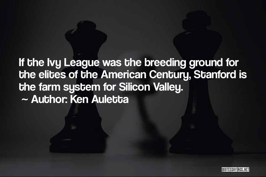 Breeding Quotes By Ken Auletta