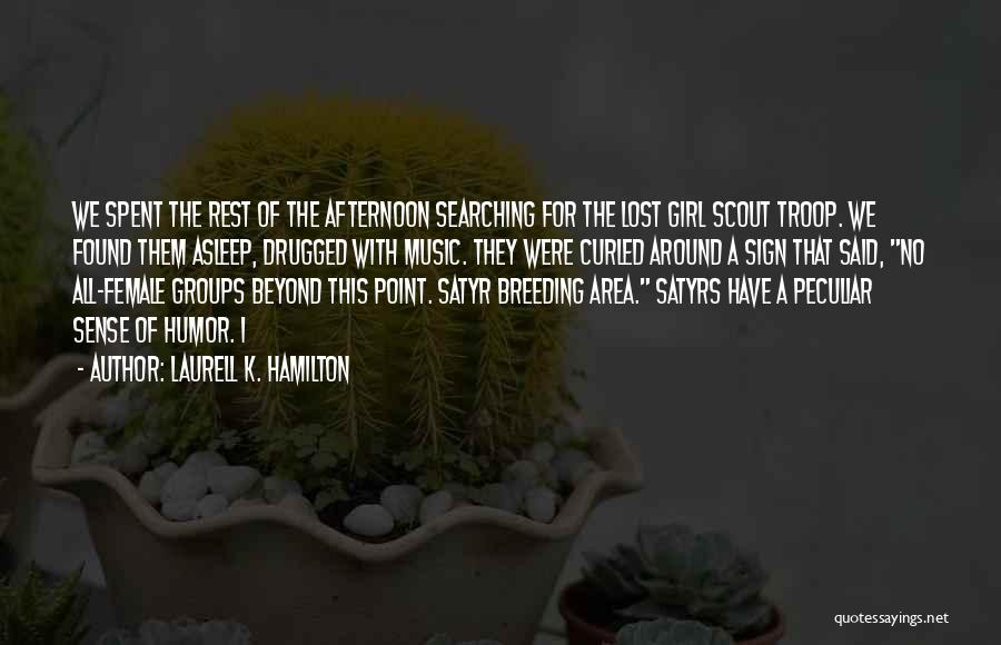 Breeding Quotes By Laurell K. Hamilton