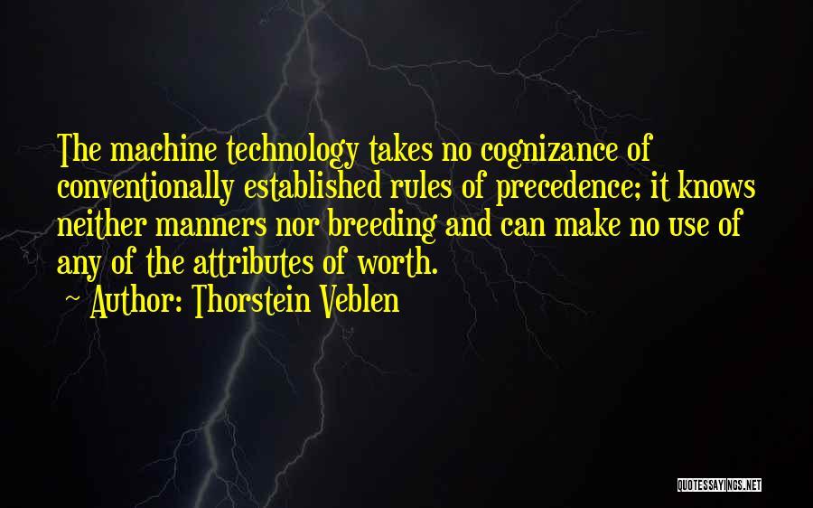 Breeding Quotes By Thorstein Veblen