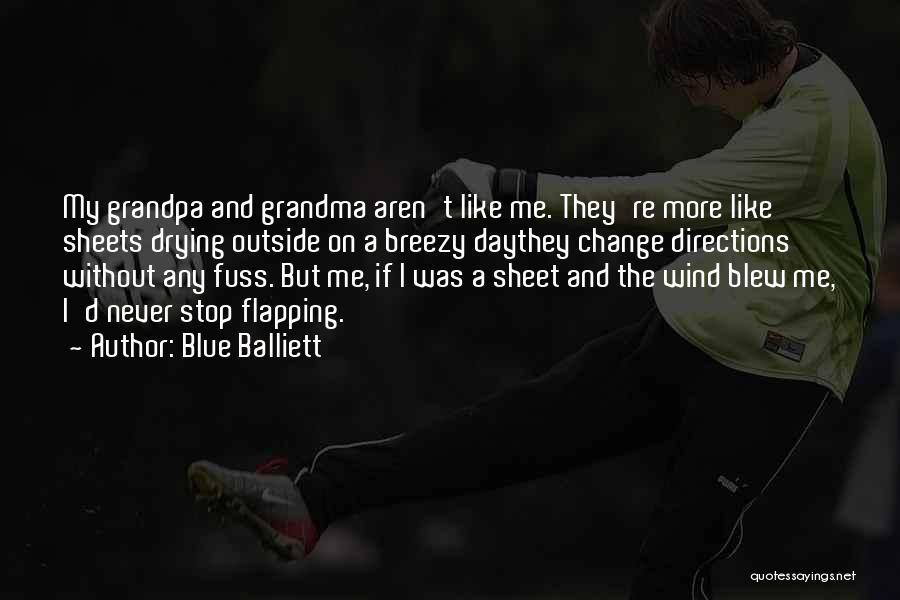 Breezy Quotes By Blue Balliett