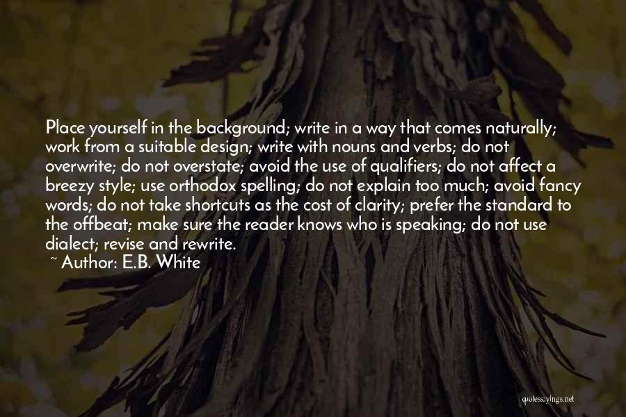 Breezy Quotes By E.B. White