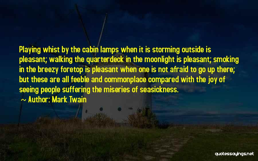 Breezy Quotes By Mark Twain