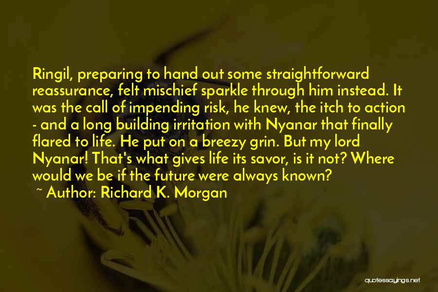 Breezy Quotes By Richard K. Morgan