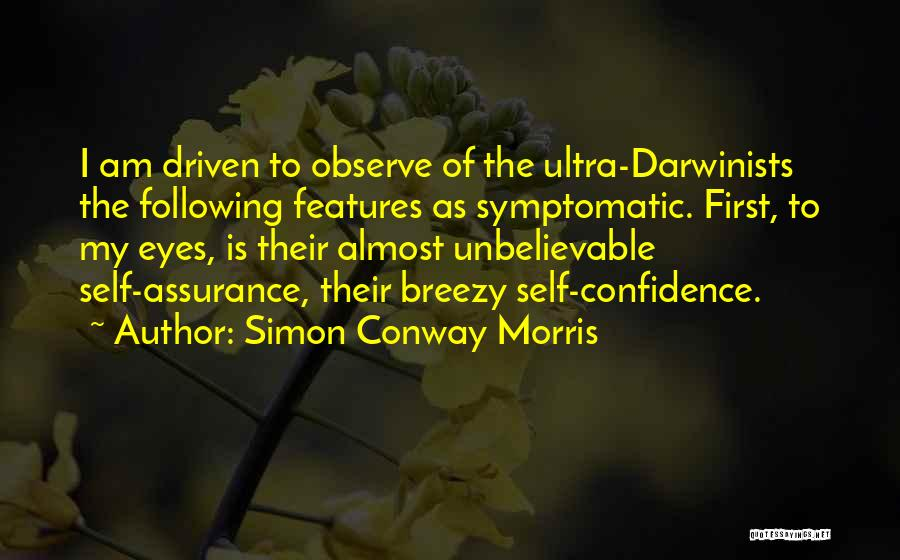 Breezy Quotes By Simon Conway Morris