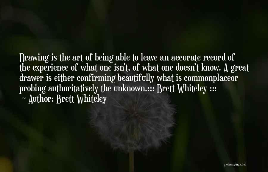 Brett Whiteley Quotes 391242