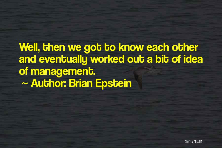 Brian Epstein Quotes 123065