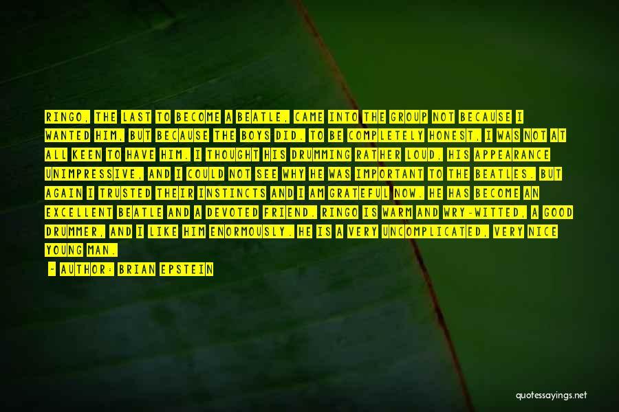 Brian Epstein Quotes 799715