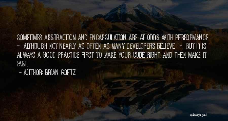 Brian Goetz Quotes 667986