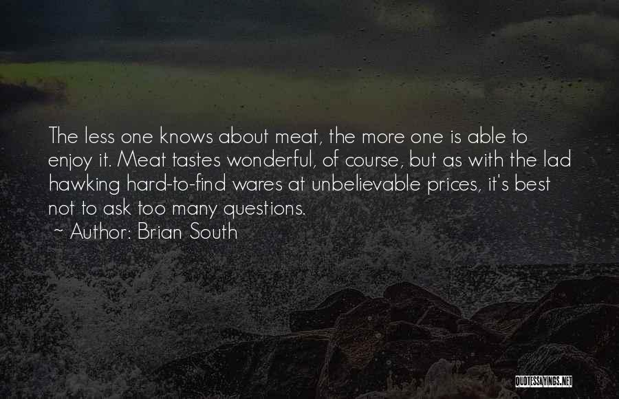 Brian South Quotes 2085994