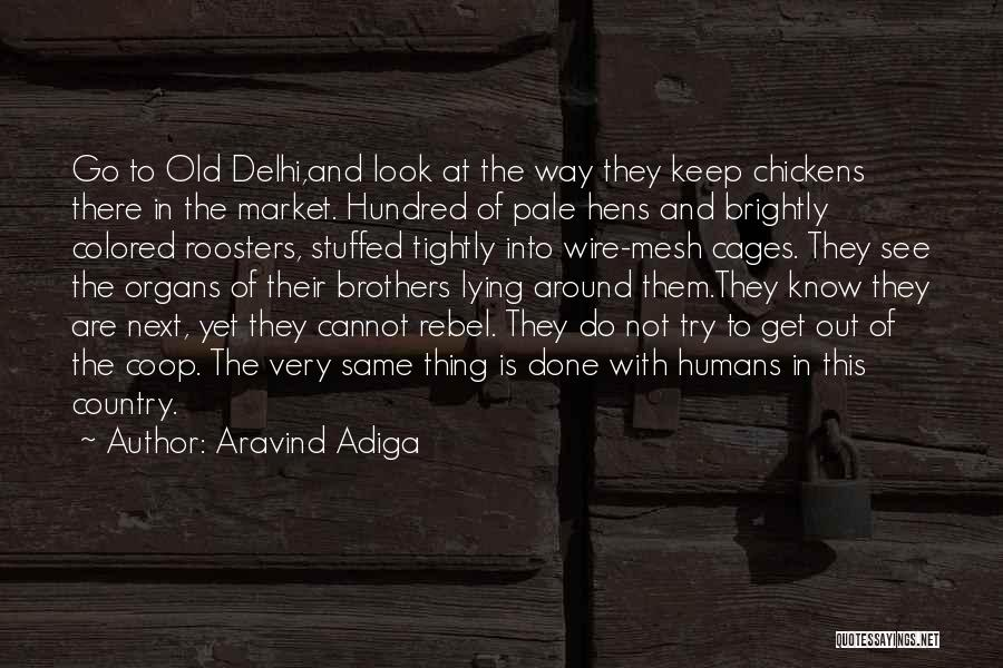 Brightly Quotes By Aravind Adiga