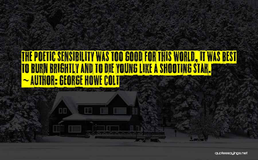 Brightly Quotes By George Howe Colt