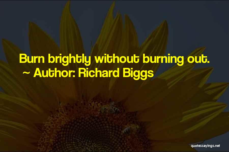 Brightly Quotes By Richard Biggs