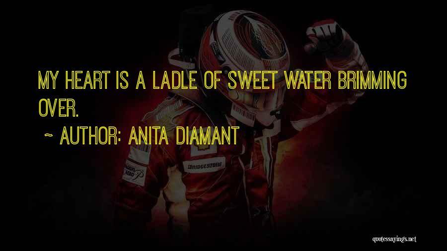 Brimming Quotes By Anita Diamant