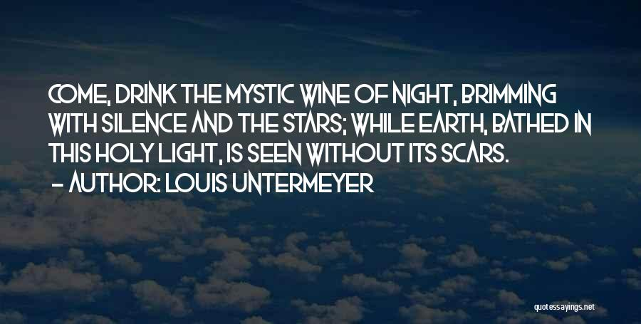 Brimming Quotes By Louis Untermeyer