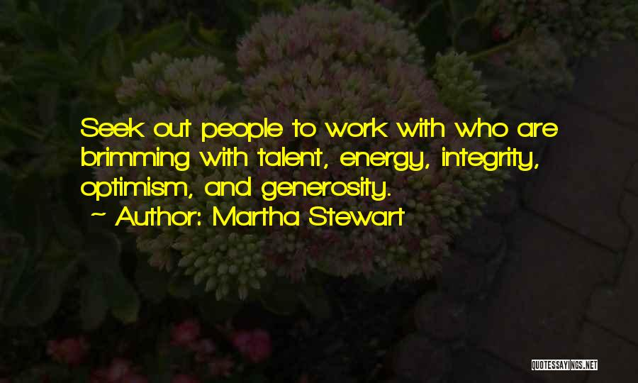 Brimming Quotes By Martha Stewart