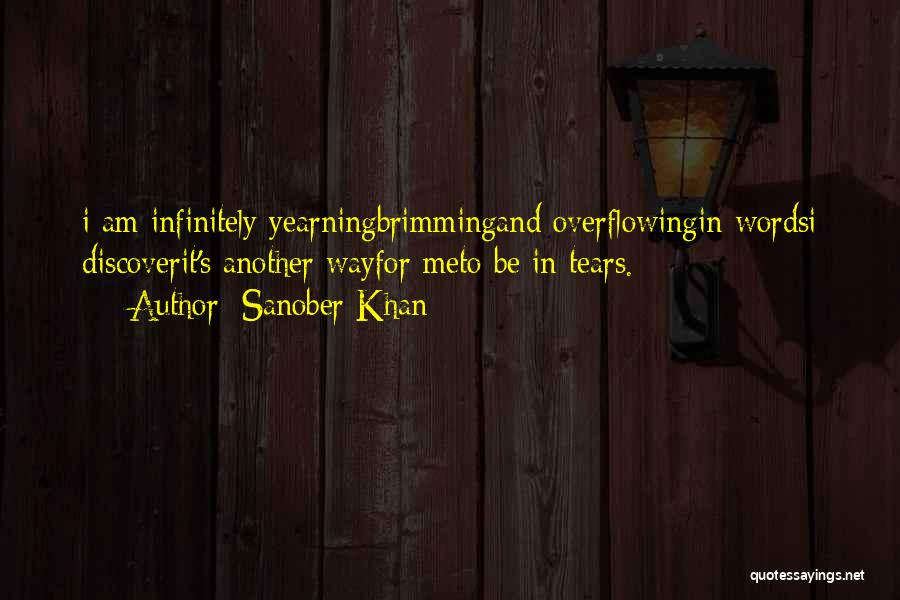 Brimming Quotes By Sanober Khan